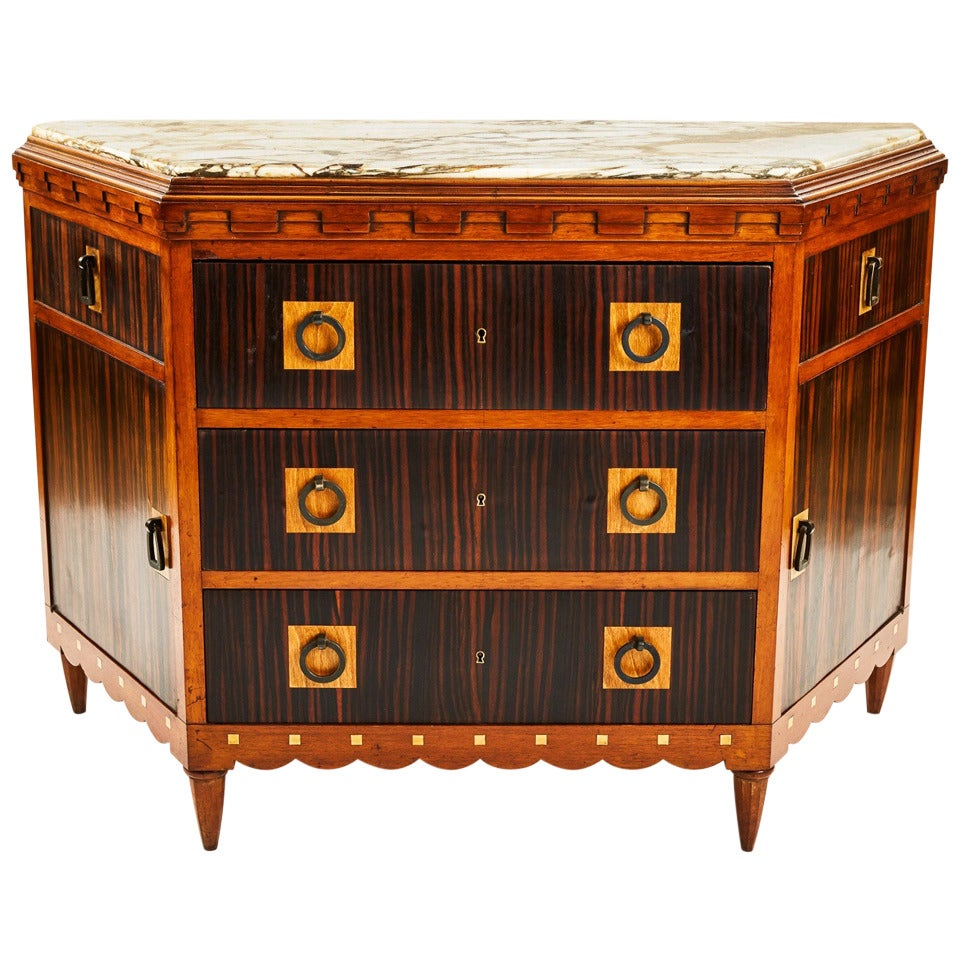 Fine french art deco commode or cabinet by maurice dufrene for Deco meuble furniture richibucto