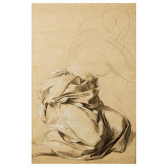 Study of a Draped Figure by Lord Frederic Leighton