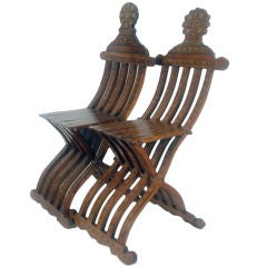 Marquetry Folding Chairs