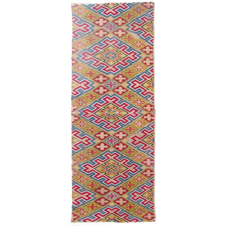 Diamond Pattern Bargello Embroidery