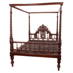 Goan Four-Poster Bed