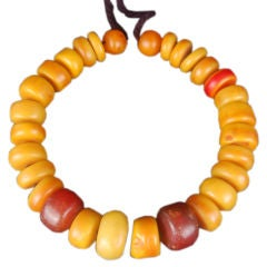 North African Amber Necklace