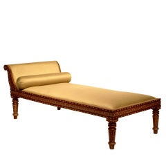 Inlaid Chaise Lounge