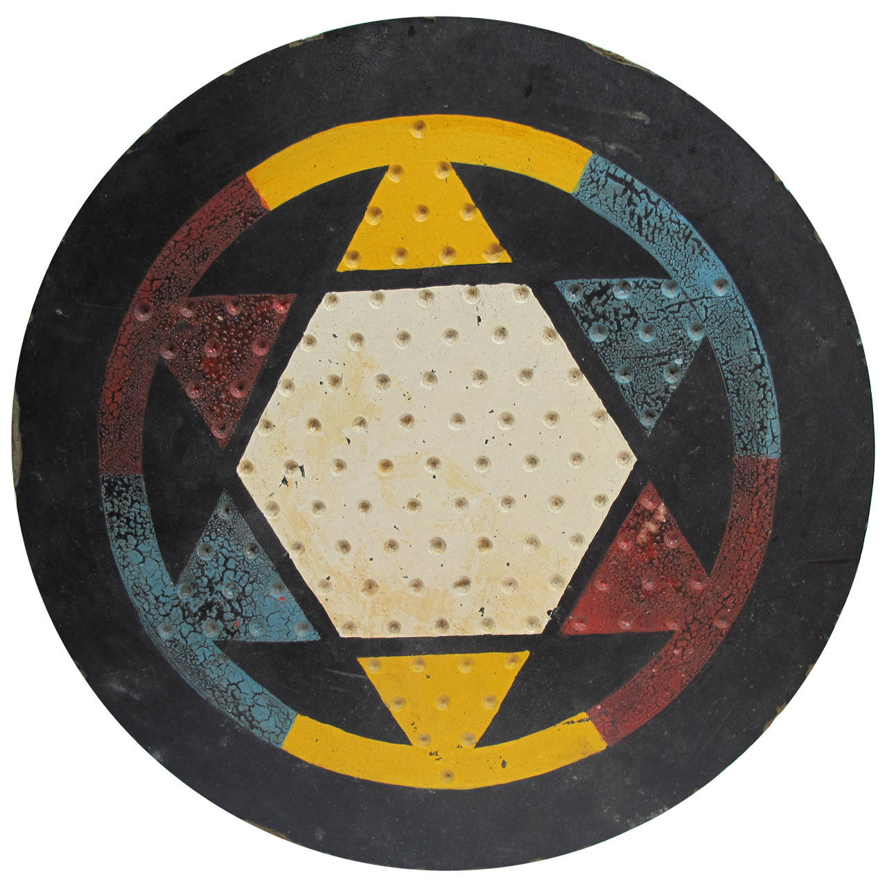 Large Graphic Chinese Checkers Gameboard