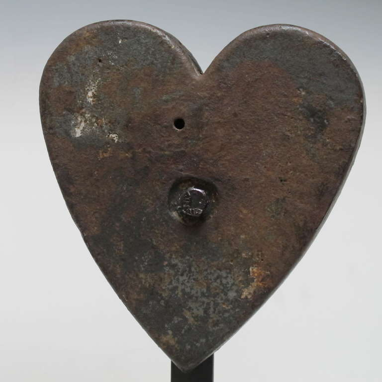 Cast Iron Heart Windmill Weight At 1stdibs
