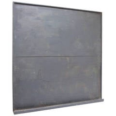Early Wooden Blackboard with Tray