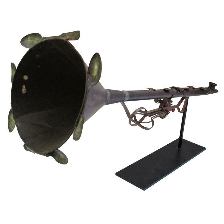 anniversary tin kazoo horn at 1stdibs. Black Bedroom Furniture Sets. Home Design Ideas
