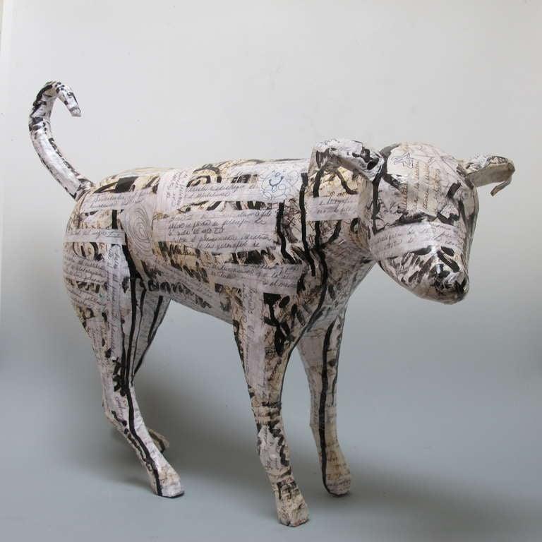 Contemporary Dog Sculpture 2