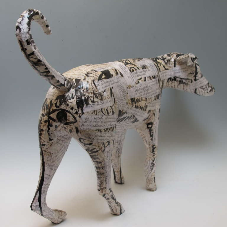 Contemporary Dog Sculpture 6