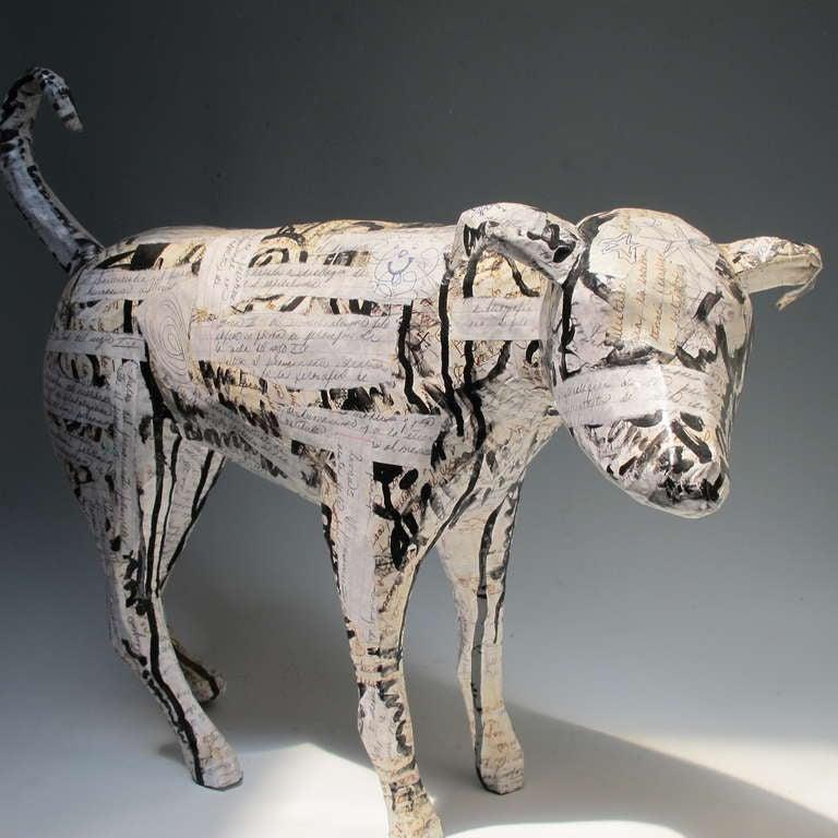 Contemporary Dog Sculpture 5