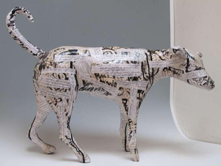 Contemporary Dog Sculpture 4