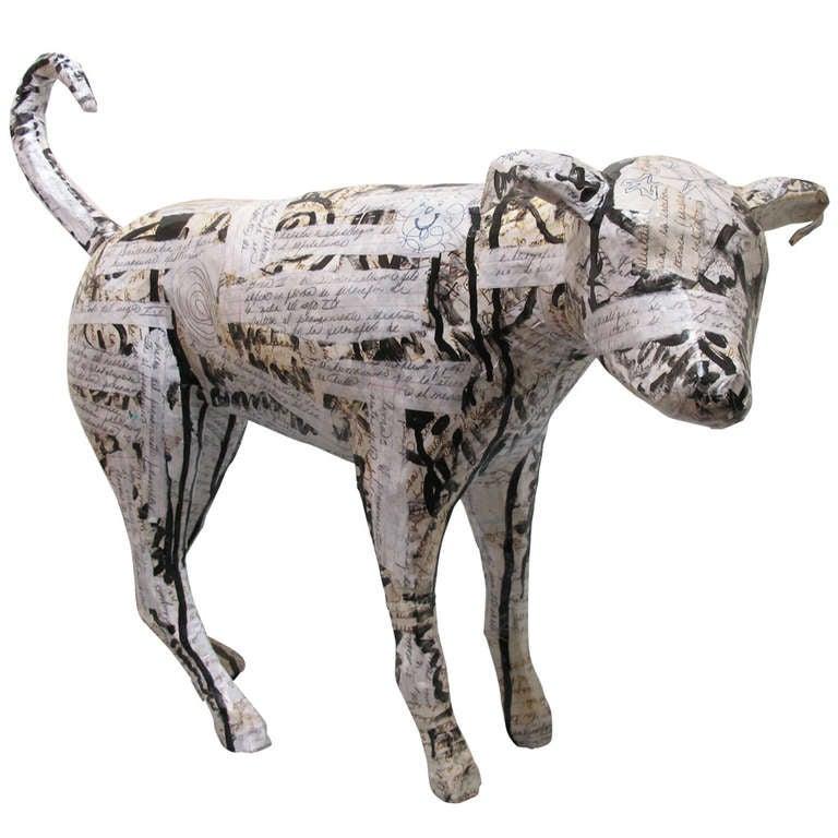 Contemporary Dog Sculpture 1