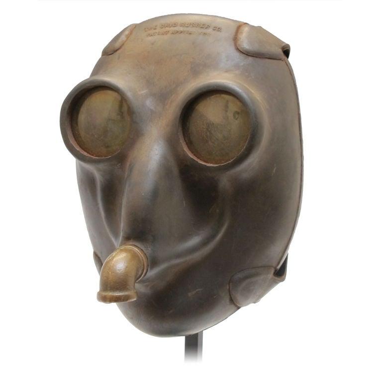 Vintage American Diving Mask At 1stdibs