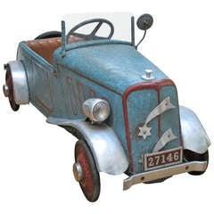 Vintage Child's Peddle Car