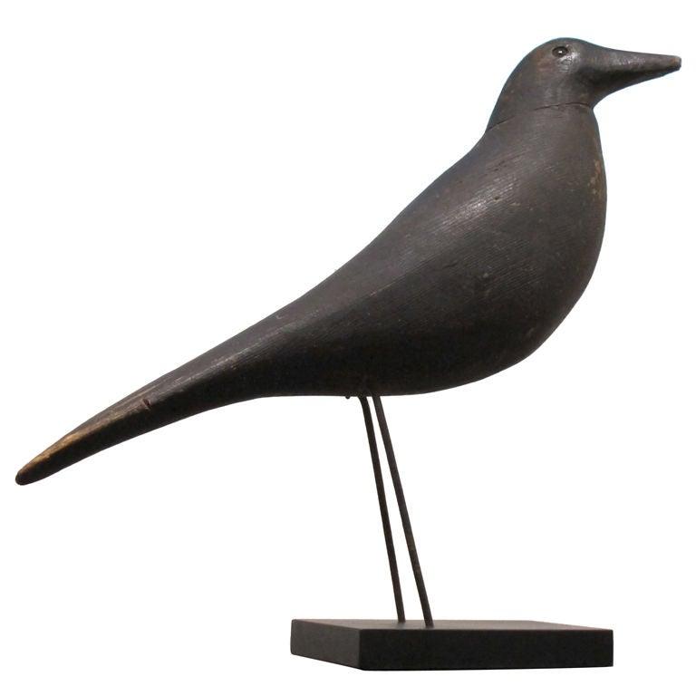 Charles perdew crow decoy at stdibs