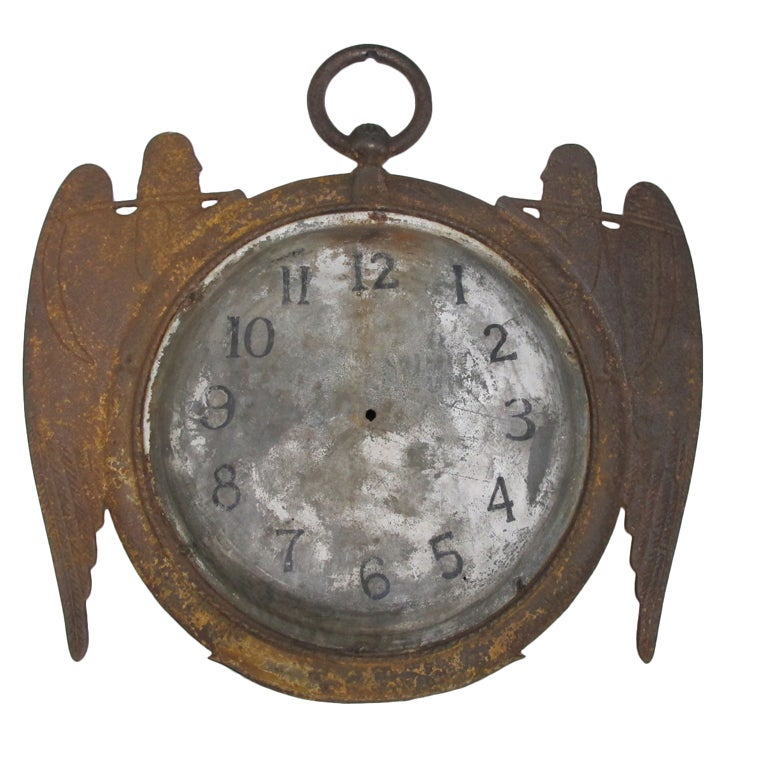 Early Clock Sign