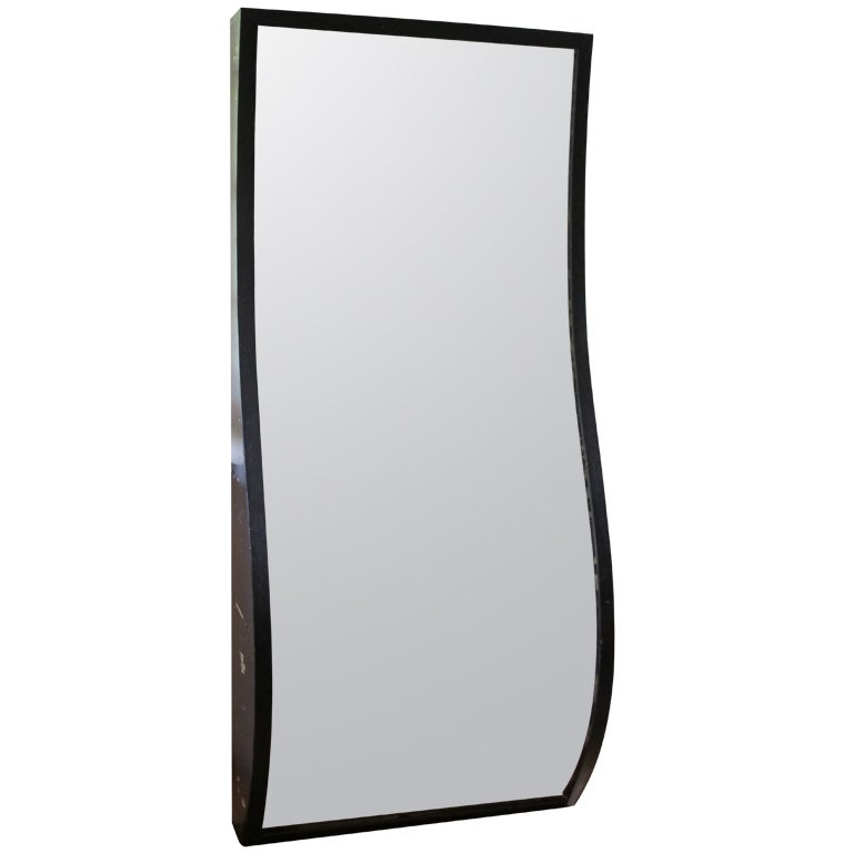 large fun house mirror
