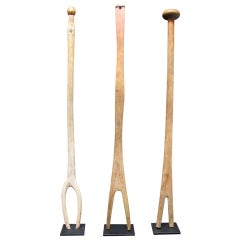 Group Of 3 Wash Sticks