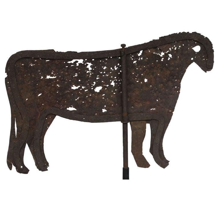 Primal Cow Weathervane