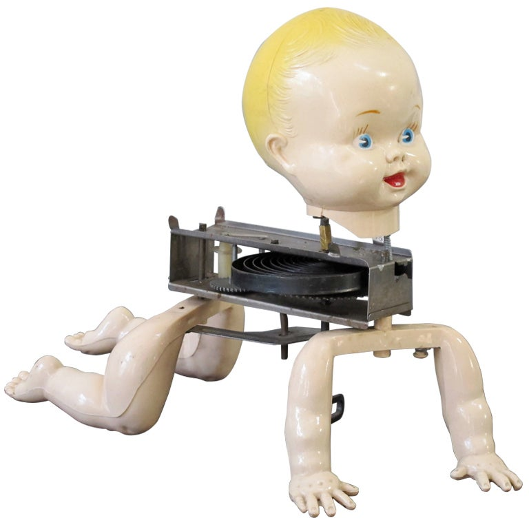 Mechanical Crawling Baby Doll 1