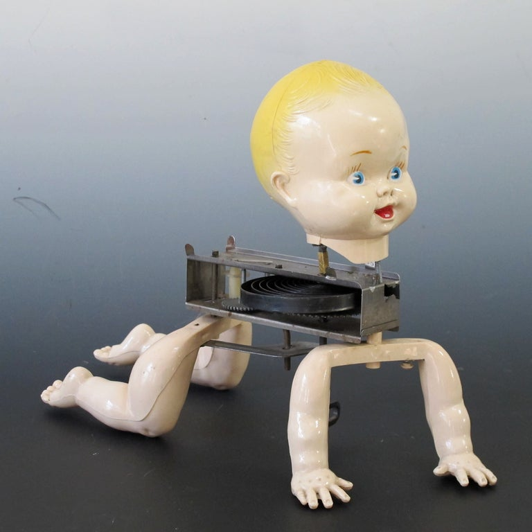 Mechanical Crawling Baby Doll 5