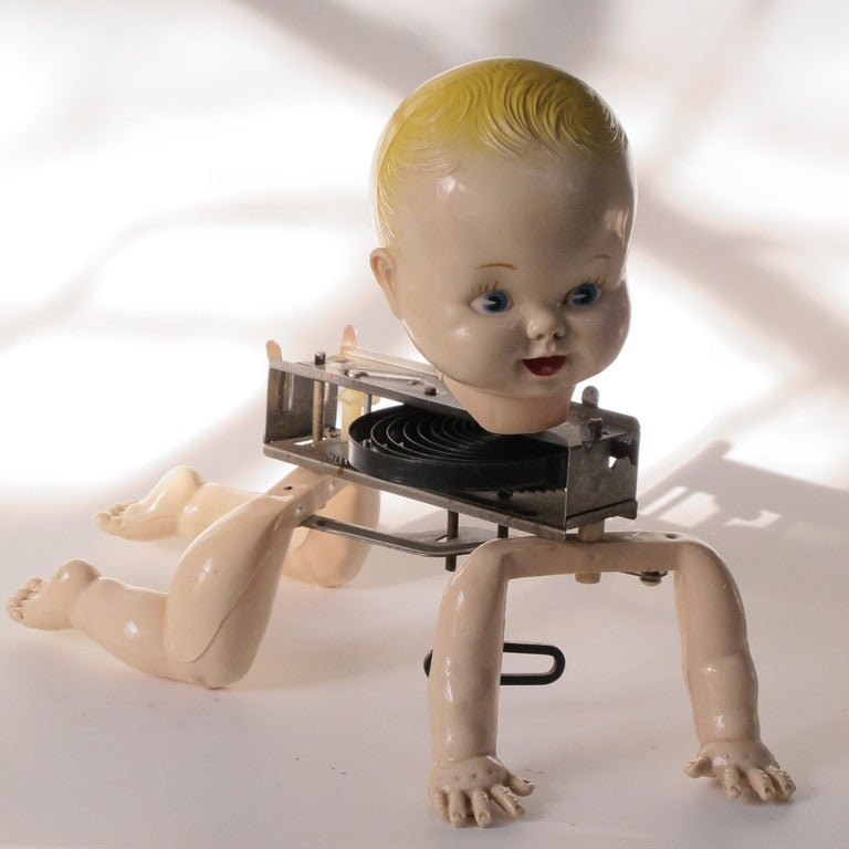 Mechanical Crawling Baby Doll 4