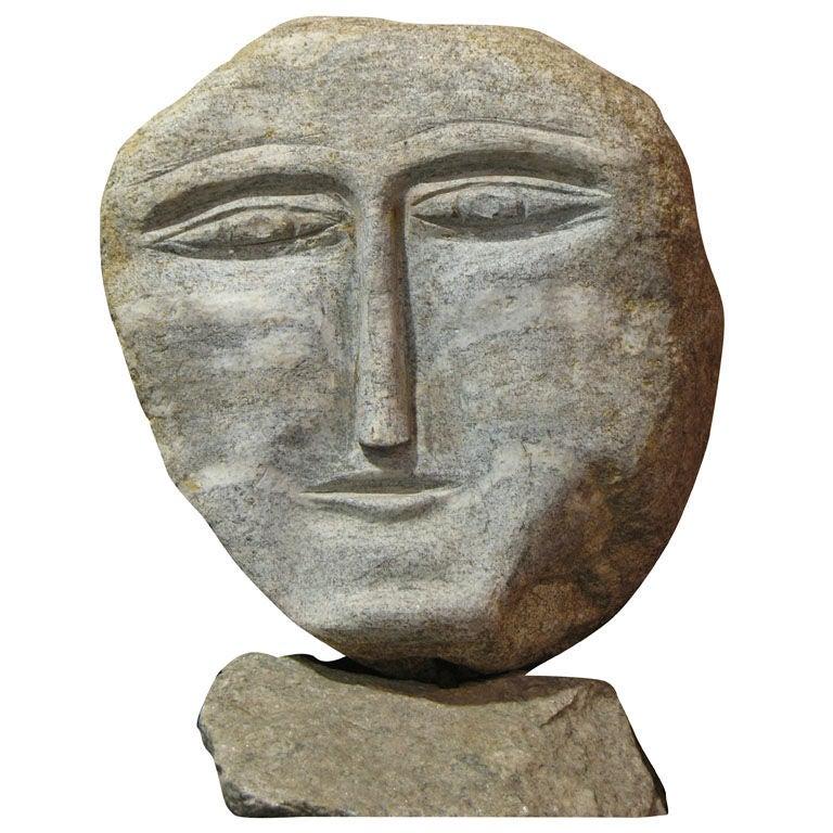 Ted Ludwiczak Stone Head