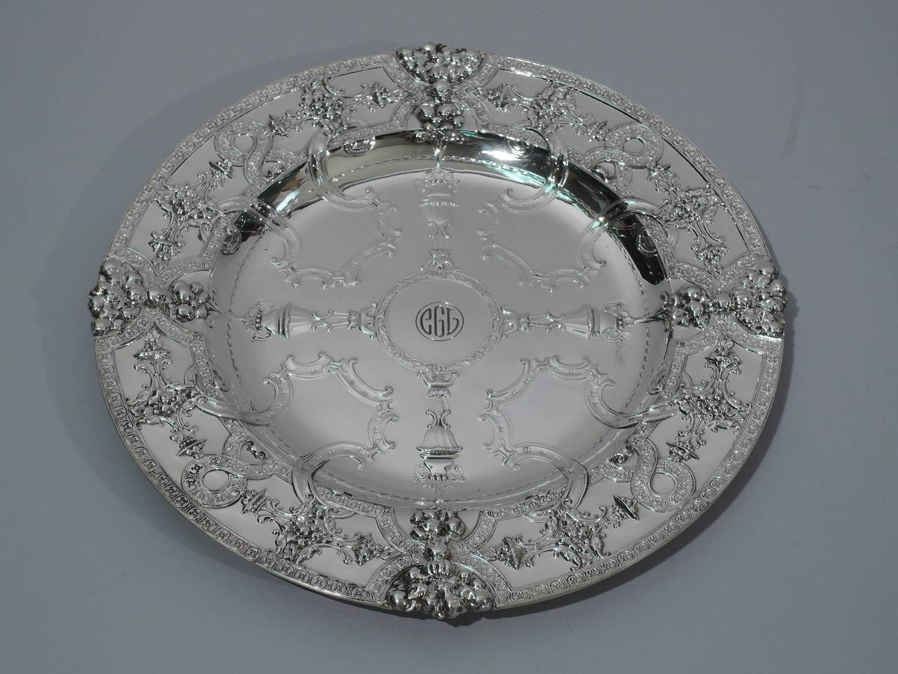 set of 12 fabulous renaissance sterling silver plates by tiffany for sale at 1stdibs