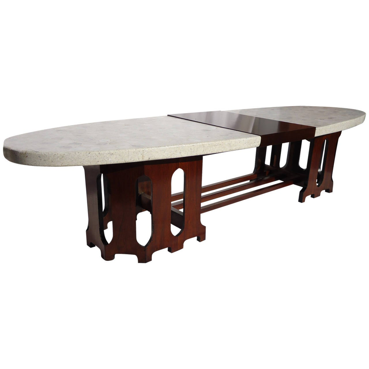 Marble Coffee Table For Sale Singapore: Harvey Probber Mid-Century Terrazzo Marble-Top Coffee