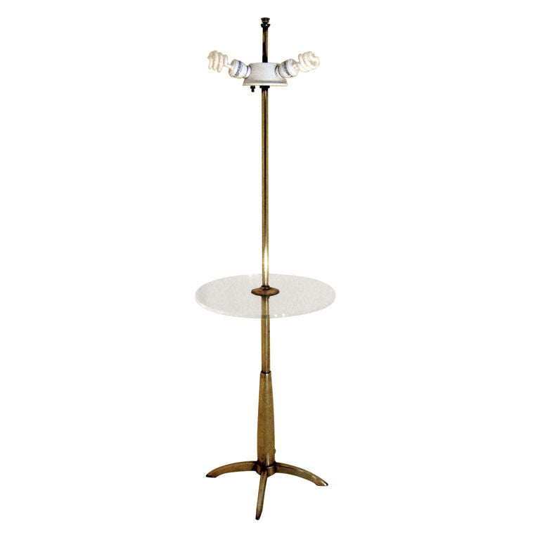 Stiffel Lamp Table At 1stdibs