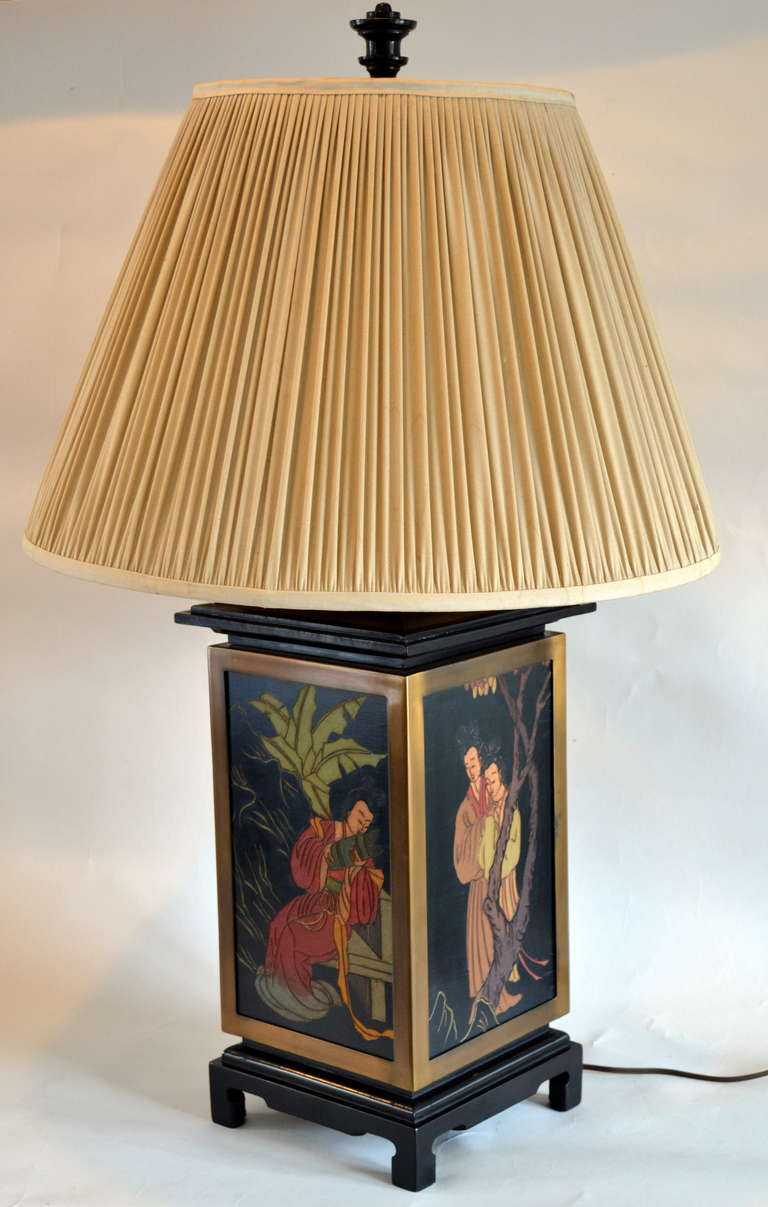 Amazing Norman Perry Asian Modern Table Lamp 2