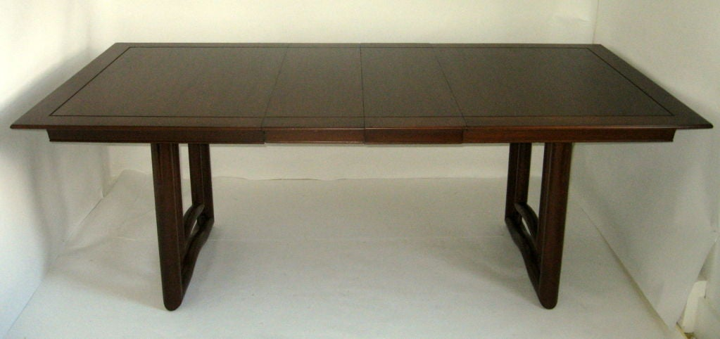Elegant Walnut Dining Table Stratford House 1953 For Sale At 1stdibs