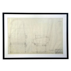 Warren McArthur Aircraft Seating Proposal Drawing, 1941