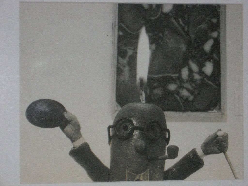 Mid-Century Modern Henry Rox Photograph MOMA  Art Connoisseur Sausage 1940s For Sale