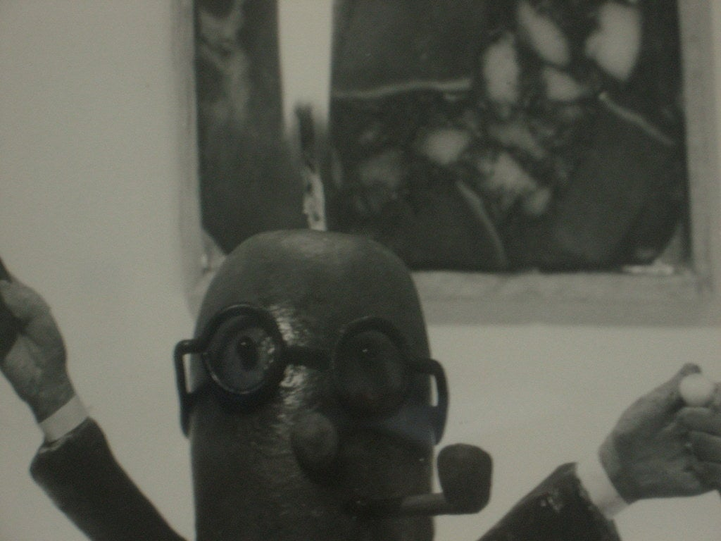 American Henry Rox Photograph MOMA  Art Connoisseur Sausage 1940s For Sale