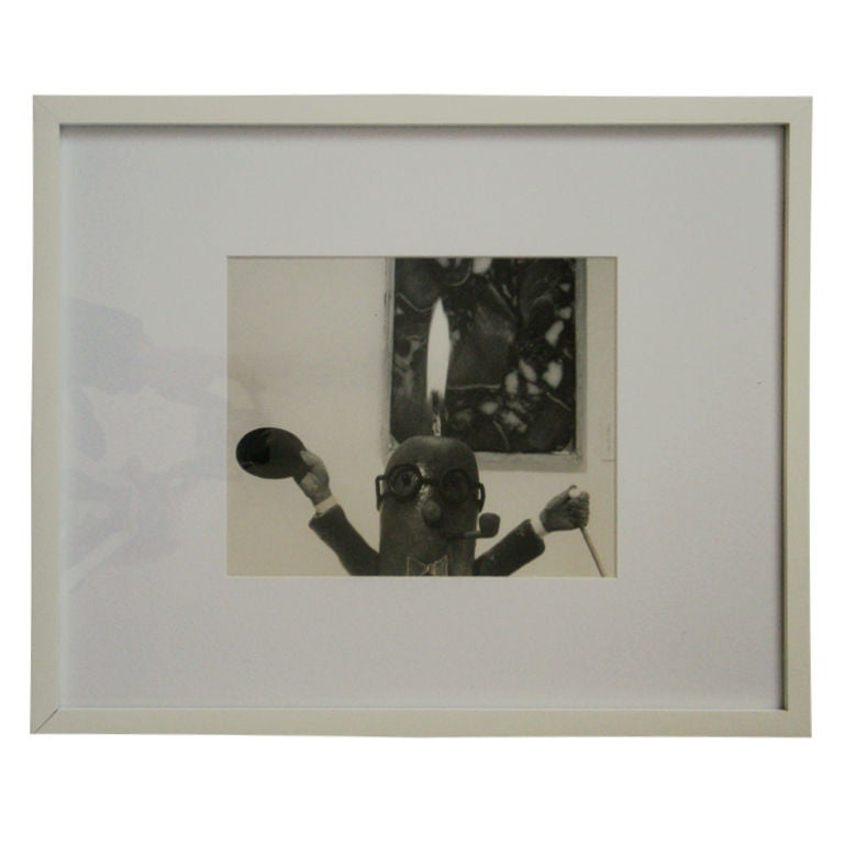 Henry Rox Photograph MOMA  Art Connoisseur Sausage 1940s For Sale