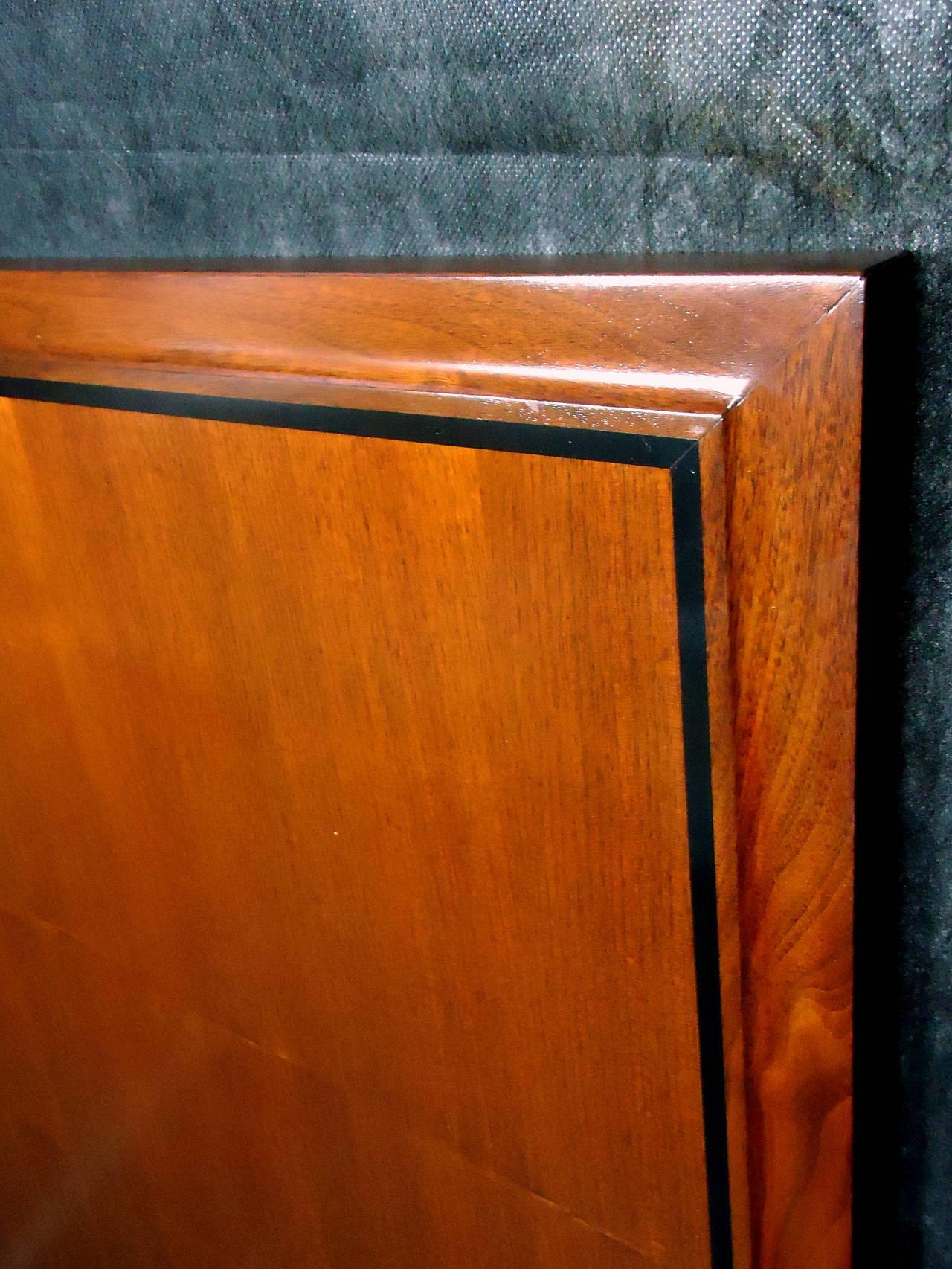 john kapel for glenn of california king size headboard circa 1960 for sale at 1stdibs. Black Bedroom Furniture Sets. Home Design Ideas