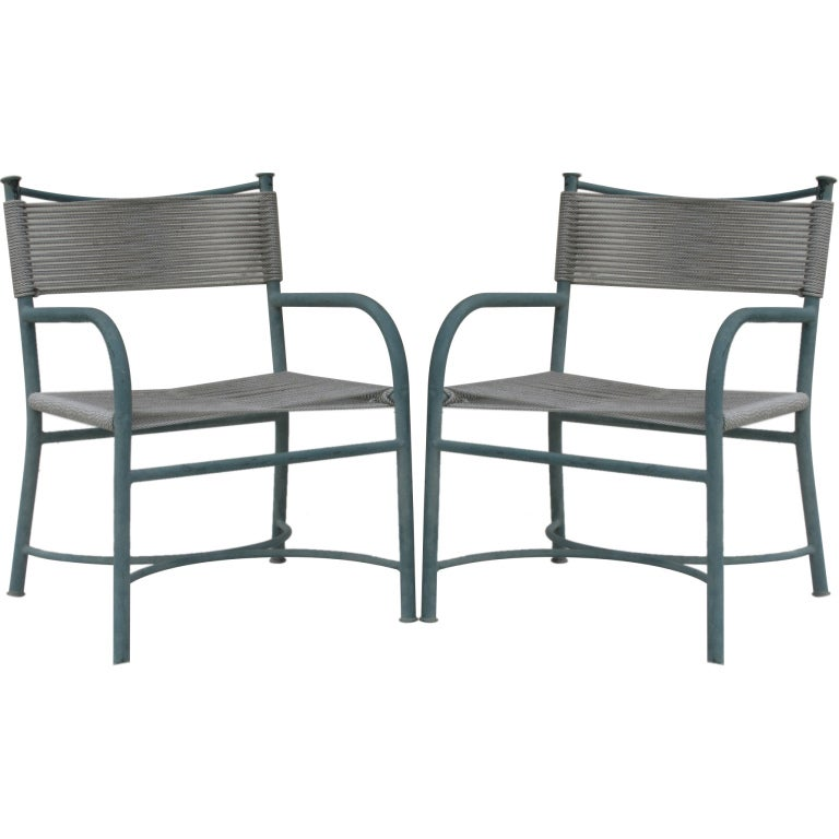 Pair Of Lounge Chairs By Robert Lewis, 1950s At 1stdibs