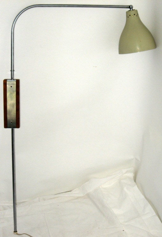 Greta Von Nessen Adjustable Swing Arm Wall Lamp 2