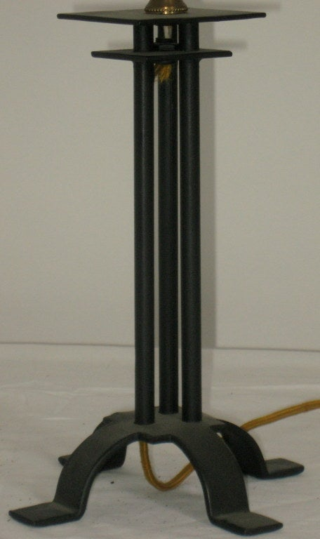 Albert Chase McArthur Table Lamp AZ. Biltmore, 1928 In Good Condition For Sale In Camden, ME