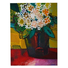 """Still Life with Large Flowers"" by James Strombotne"