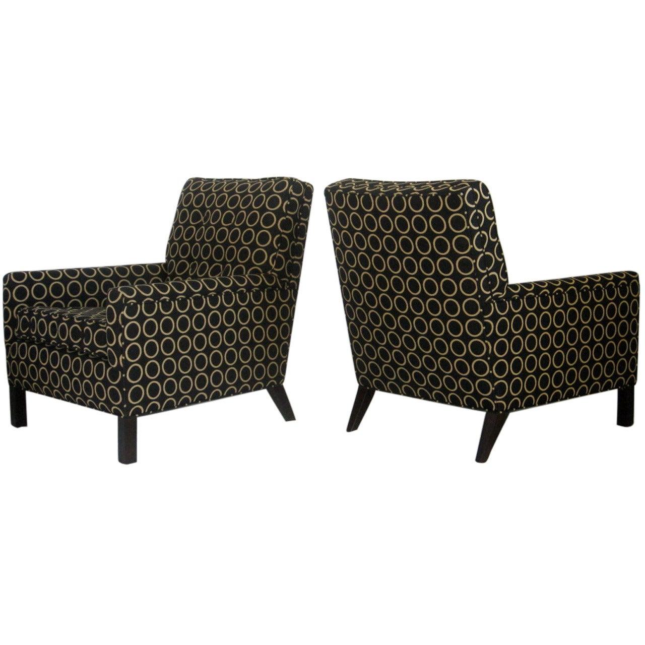 T.H. Robsjohn-Gibbings, 1954 for Widdicomb lounge chairs