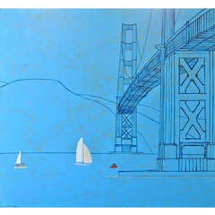 """Blue Bridge"" by James Strombotne"