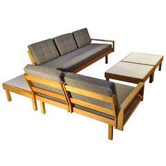 Modular Sofas and Tables Martin Borenstein Brown Saltman 1958