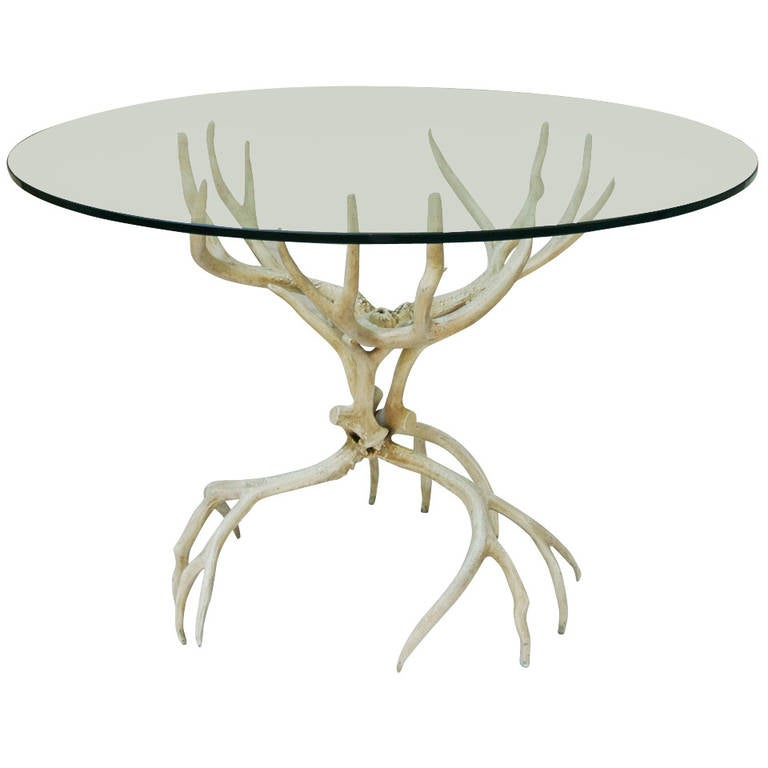 Arthur Court Quot Faux Antler Quot Dining Table At 1stdibs