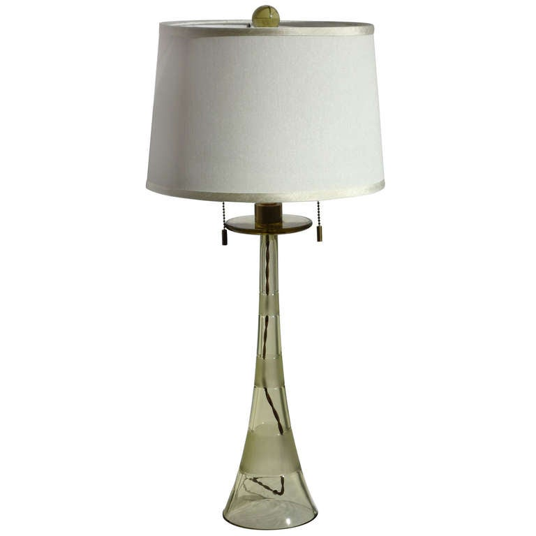 Murano Glass Table Lamp John Hutton Donghia, circa 1980