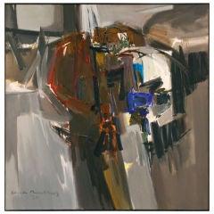 """Claude R. Bentley """"Eclipse"""", 1960"""