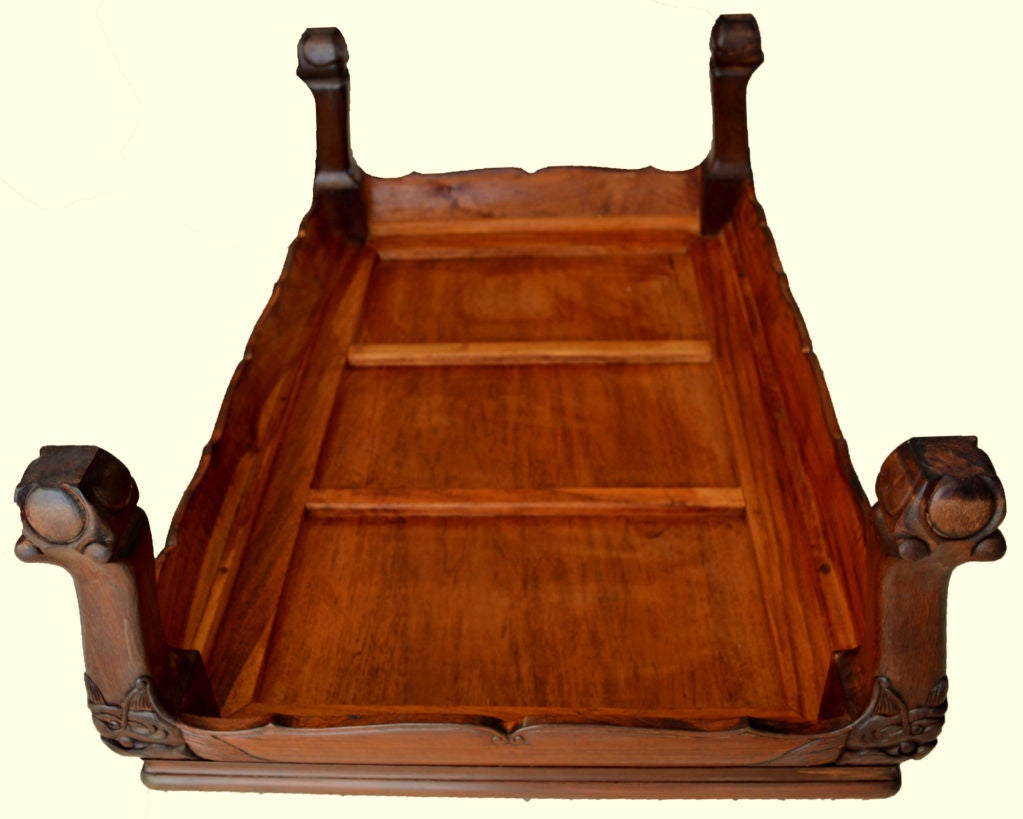Hand-Crafted Chinese, Kang Table, 20th Century For Sale