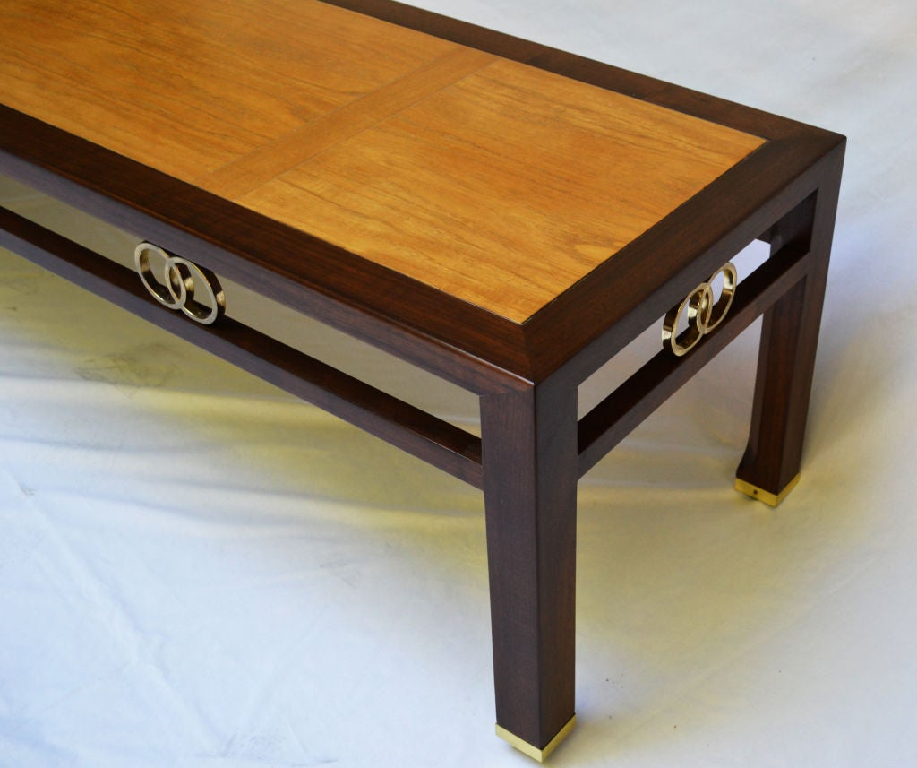 American Baker Coffee Table Designed by Michael Taylor 1950's For Sale