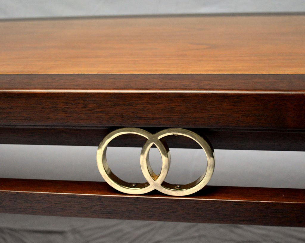 Baker Coffee Table Designed by Michael Taylor 1950's In Excellent Condition For Sale In Camden, ME